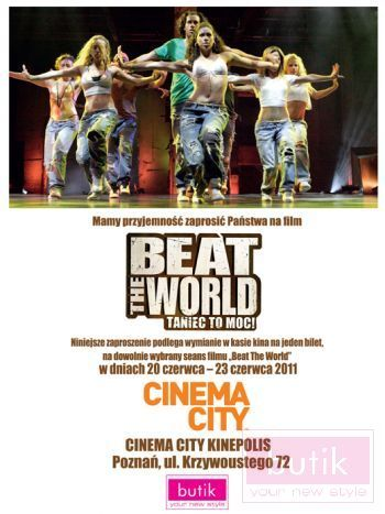 Poznań: Beat The World Taniec to moc!                                  zdj.                                  1