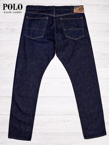 RALPH LAUREN Ciemnoniebieskie spodnie jeansowe męskie                                  zdj.                                  2