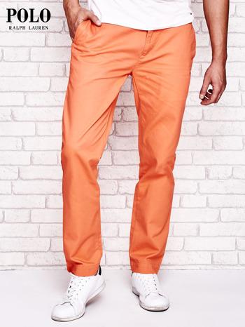 RALPH LAUREN Pomarańczowe spodnie męskie                                  zdj.                                  1