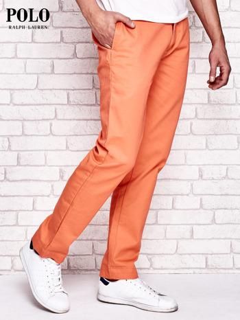 RALPH LAUREN Pomarańczowe spodnie męskie                                  zdj.                                  3