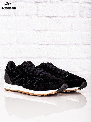 REEBOK Czarne buty sportowe męskie CL LEATHER SG                              zdj.                              2