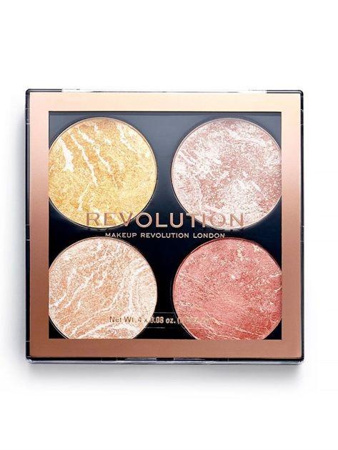 REVOLUTION Cheek Kit Multipaleta do makijażu policzków Make it count 8,8 g