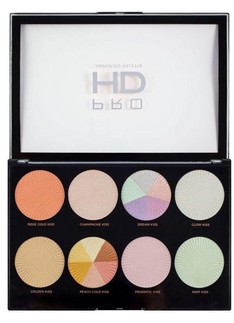 REVOLUTION Pro HD Palette Paleta rozświetlaczy Glow Getter