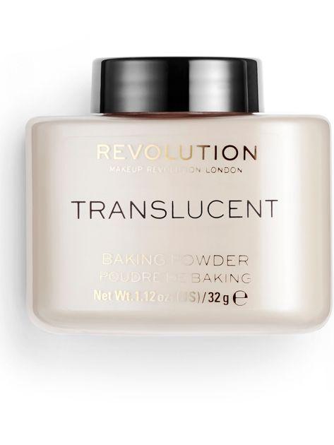 REVOLUTION Transparentny puder sypki Loose Baking Powder Translucent 32 g