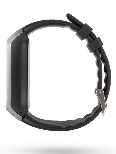 RONEBERG Smartwatch R09 Współpracuje z Android oraz iOS Powiadomienia Połączenia Krokomierz Monitor snu Czarno-srebrny                              zdj.                              2