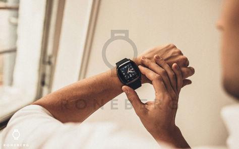 RONEBERG Smartwatch RM26 Współpracuje z Android oraz iOS Powiadomienia Połączenia Krokomierz Monitor snu Czarny                              zdj.                              7