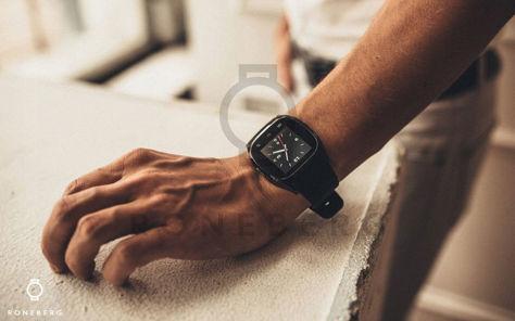 RONEBERG Smartwatch RM26 Współpracuje z Android oraz iOS Powiadomienia Połączenia Krokomierz Monitor snu Niebieski                              zdj.                              7