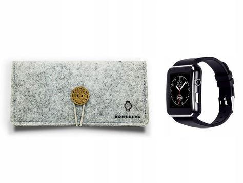 RONEBERG Smartwatch RX6 Współpracuje z Android oraz iOS Powiadomienia Połączenia Krokomierz Monitor snu Biały                              zdj.                              4