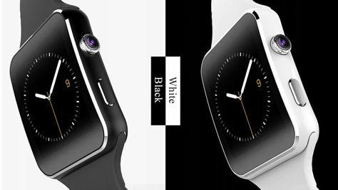 RONEBERG Smartwatch RX6 Współpracuje z Android oraz iOS Powiadomienia Połączenia Krokomierz Monitor snu Czarny                              zdj.                              4
