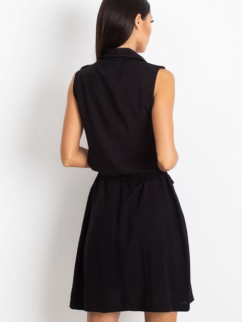 RUE PARIS Czarna sukienka Hive                              zdj.                              2