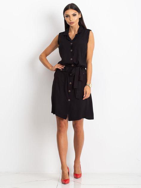 RUE PARIS Czarna sukienka Hive                              zdj.                              4