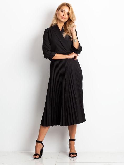 RUE PARIS Czarna sukienka Hope