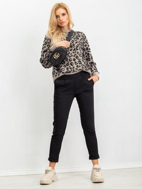 RUE PARIS Czarne spodnie Miley                              zdj.                              4