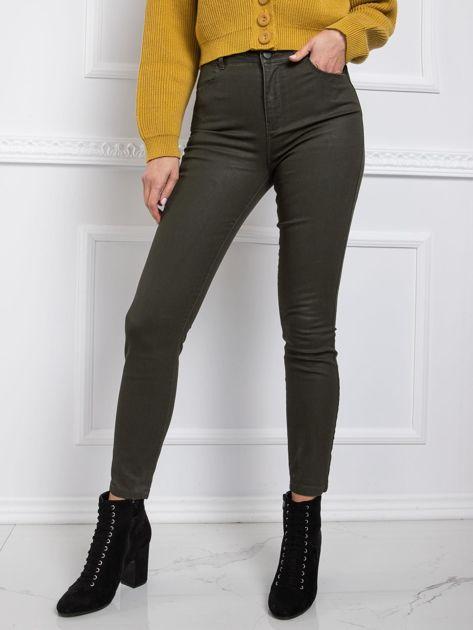 RUE PARIS Khaki spodnie Firenze