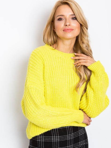 RUE PARIS Żółty sweter Zoe                              zdj.                              6