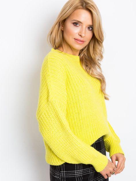 RUE PARIS Żółty sweter Zoe                              zdj.                              3
