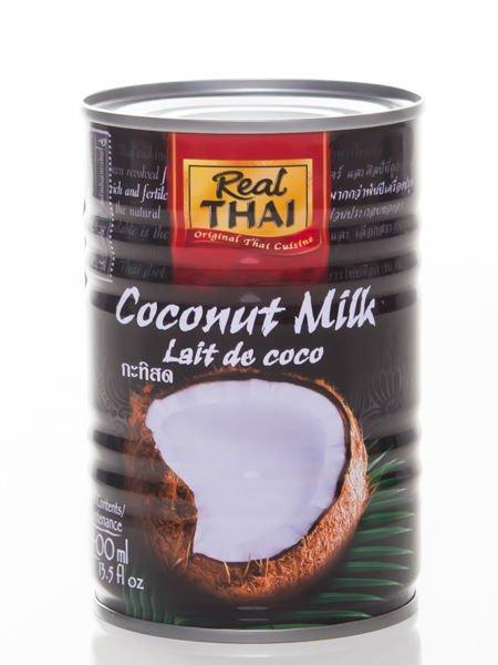 Real Thai - Mleko kokosowe 400ml                              zdj.                              1