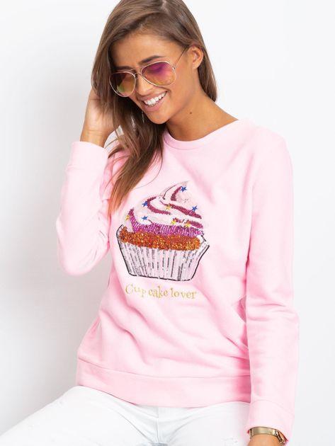 Różowa bluza Shaina                              zdj.                              1