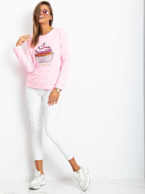 Różowa bluza Shaina                              zdj.                              4