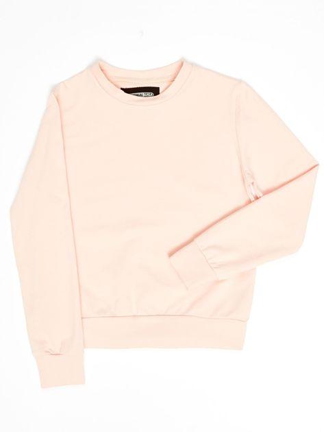 Różowa bluza młodzieżowa                              zdj.                              1