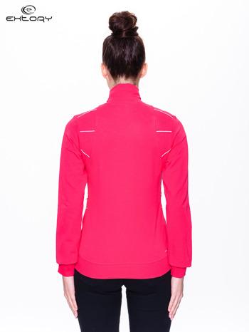 Różowa bluza sportowa z logo EXTORY                                  zdj.                                  4