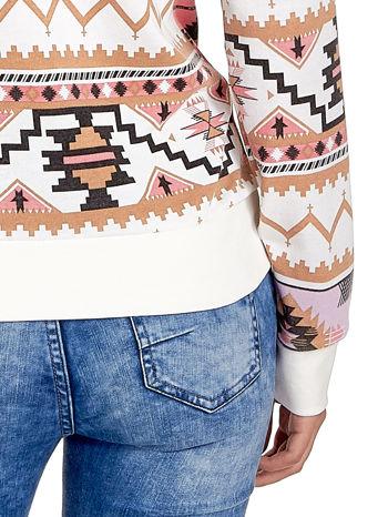 Różowa bluza w azteckie wzory                                  zdj.                                  6