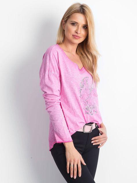 Różowa bluzka Espionage                              zdj.                              3