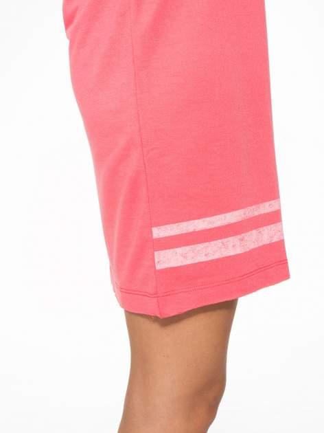 Różowa bluzosukienka z nadrukiem NYC                                  zdj.                                  10