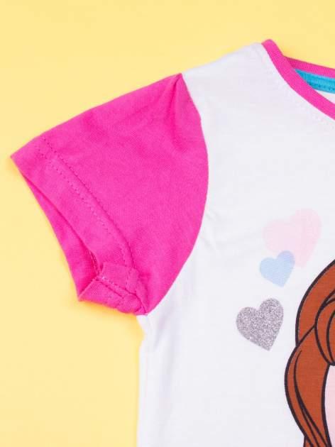Różowa piżama dla dziewczynki JEJ WYSOKOŚĆ ZOSIA                                  zdj.                                  6