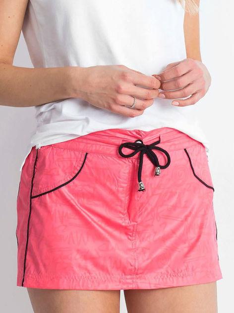 Różowa spódnica z szortami Empire                              zdj.                              1