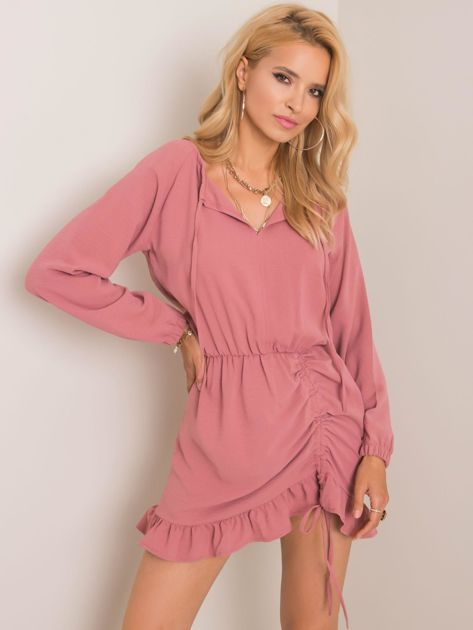 Różowa sukienka Dreaming RUE PARIS