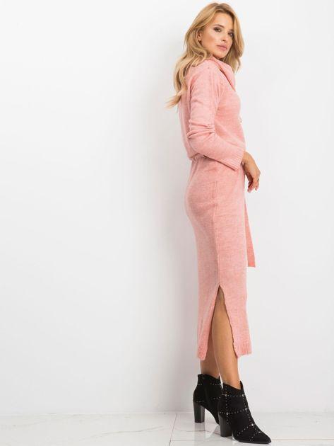 Różowa sukienka Peace                              zdj.                              3
