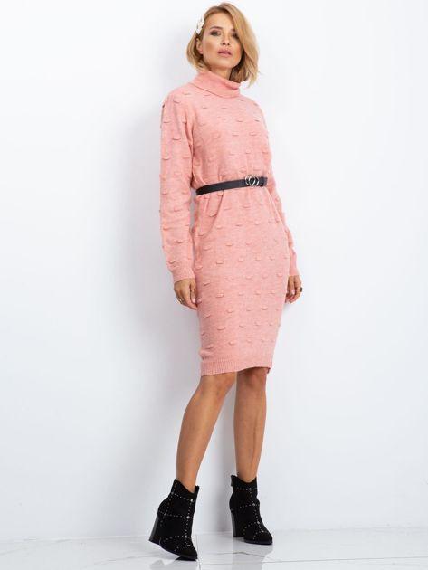 Różowa sukienka Silky                              zdj.                              3