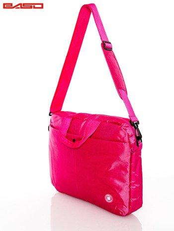 Różowa torba na laptopa                              zdj.                              2