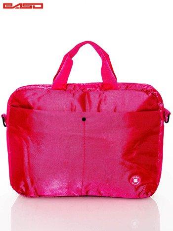 Różowa torba na laptopa                              zdj.                              1