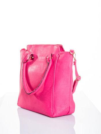 Różowa torba shopper bag                                  zdj.                                  4
