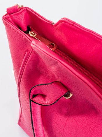 Różowa torba shopper bag                                  zdj.                                  8