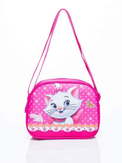 Różowa torba szkolna DISNEY kotka Merie                                  zdj.                                  1