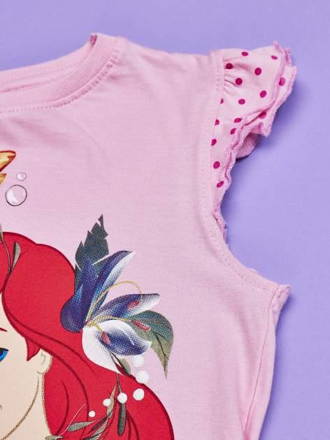 Różowa tunika dla dziewczynki MAŁA SYRENKA                                  zdj.                                  4