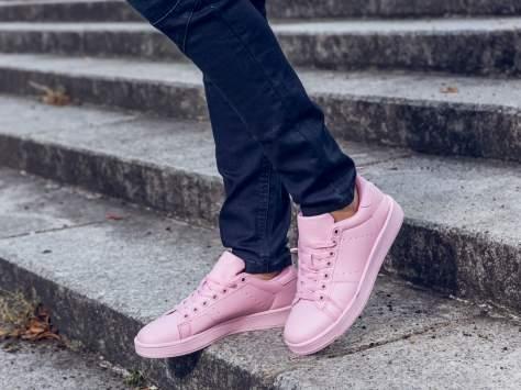 Różowe buty sportowe damskie                                  zdj.                                  5