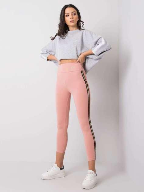 Różowe legginsy Bonnie RUE PARIS