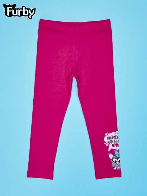 Różowe legginsy dla dziewczynki FURBY                                  zdj.                                  1