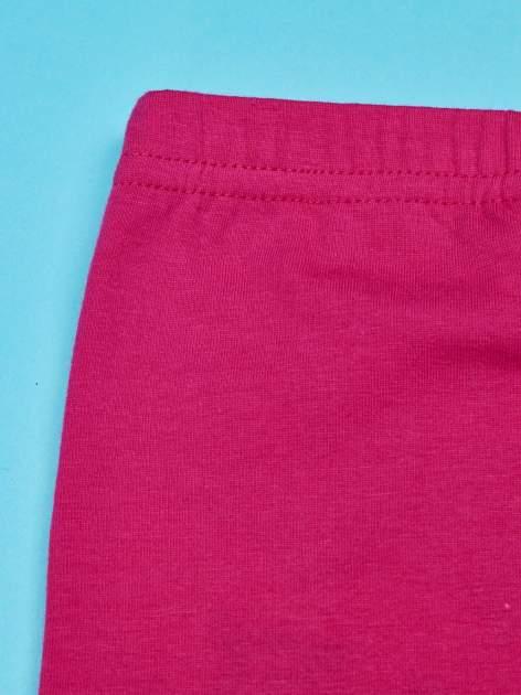 Różowe legginsy dla dziewczynki FURBY                                  zdj.                                  4
