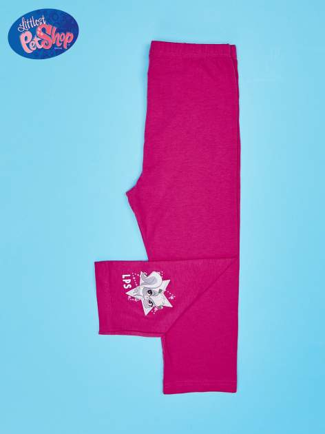 Różowe legginsy dla dziewczynki LITTLEST PET SHOP                                  zdj.                                  2