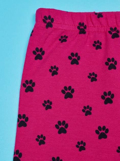 Różowe legginsy dla dziewczynki motyw 101 DALMATYŃCZYKÓW                                  zdj.                                  4