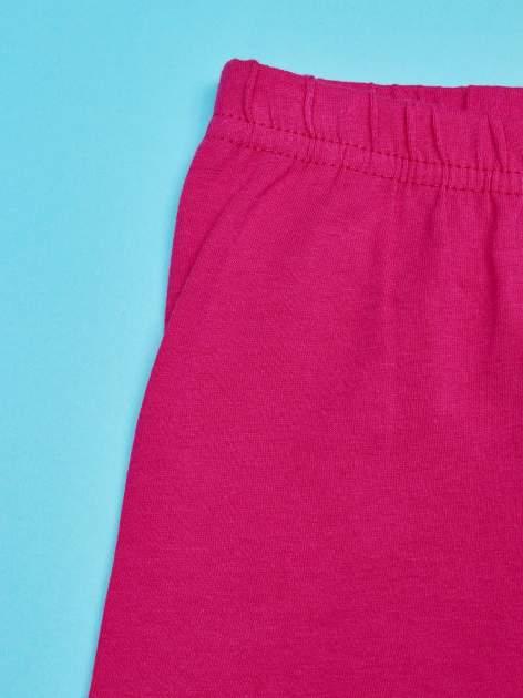 Różowe legginsy dla dziewczynki nadruk MY LITTLE PONY                                  zdj.                                  3