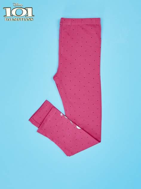 Różowe legginsy w kropki dla dziewczynki 101 DALMATYŃCZYKÓW                                  zdj.                                  3