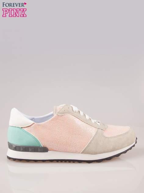 Różowe miejskie buty sportowe Love Affair                                  zdj.                                  1