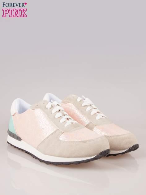 Różowe miejskie buty sportowe Love Affair                                  zdj.                                  2