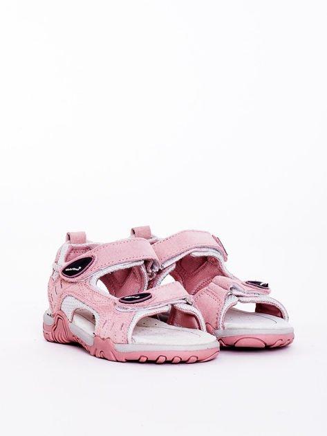 Różowe sandały dziecięce                              zdj.                              1